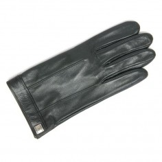 Gant Cuir Homme Glove Story Pression Carrée- Dessus