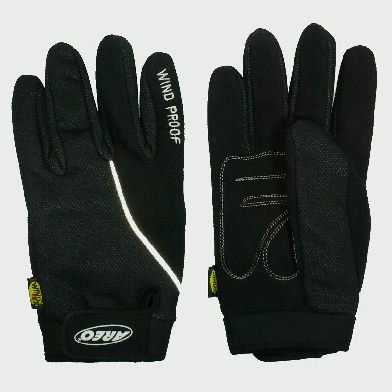 gants longs cyclistes windtex aero tous les gants. Black Bedroom Furniture Sets. Home Design Ideas