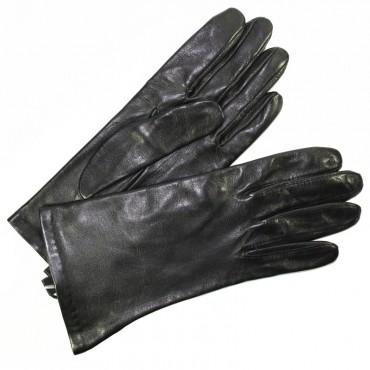 gants cuir femme agneau doubl s soie noir tous les gants. Black Bedroom Furniture Sets. Home Design Ideas