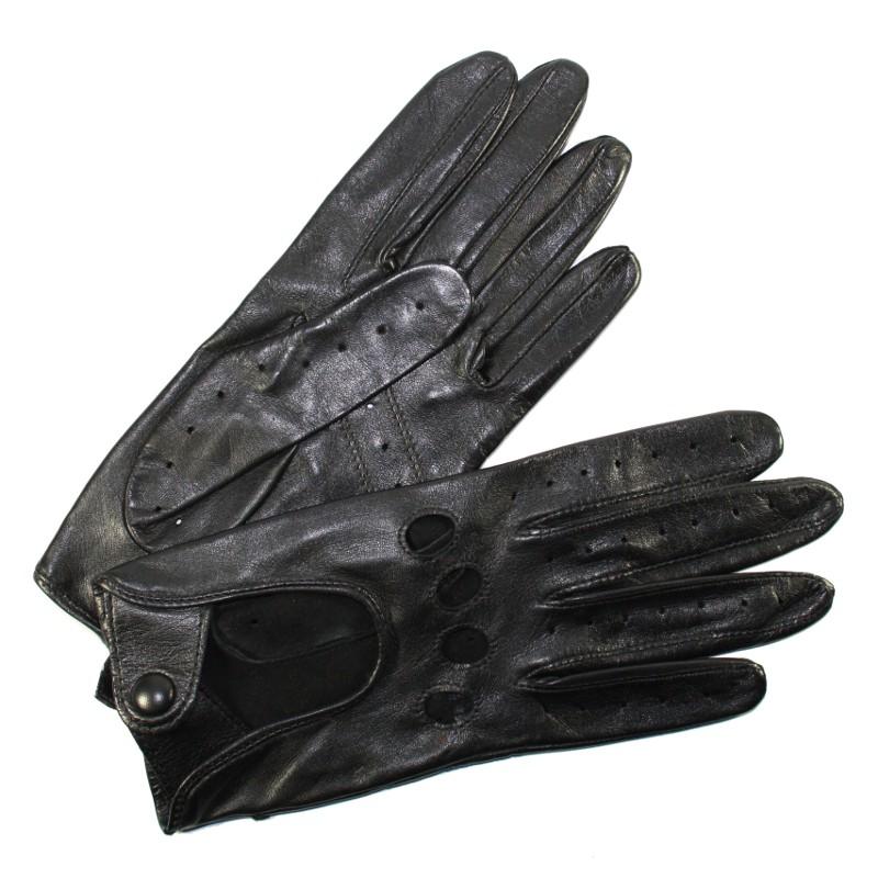 gants de conduite femme cuir noir glove story tous les gants. Black Bedroom Furniture Sets. Home Design Ideas