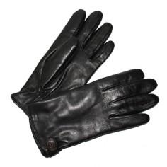 Gant Femme Noir Cuir Agneau Glove Story
