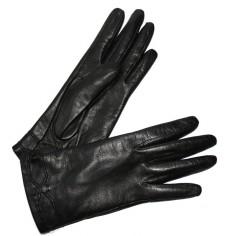 Gant Femme Glove Story Noir Cuir Agneau