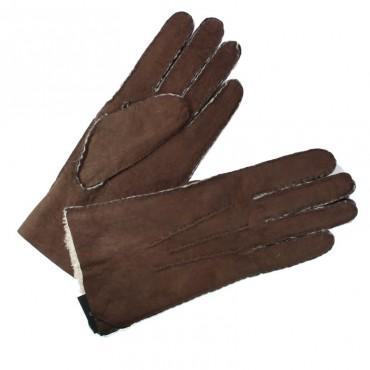 Gant Mouton Retourné Brun Femme Brun Glove Story