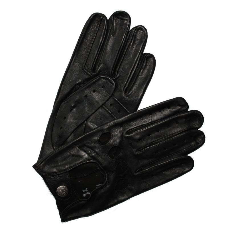 gants de conduite homme cuir noir glove story tous les gants. Black Bedroom Furniture Sets. Home Design Ideas