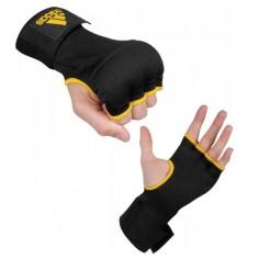 Mitaines sous-gants rembourrées de mousse de protection. Absorbe les coups et préserve l'intérieur des gants de boxe des effets de la transpiration.