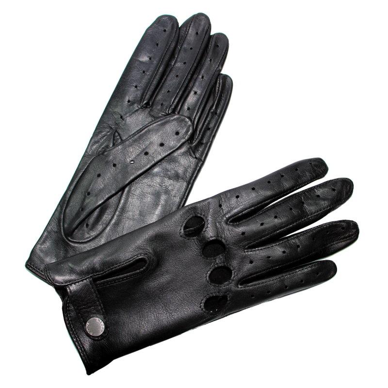 gants de conduite femme cuir noir glove story ferm s tous les gants. Black Bedroom Furniture Sets. Home Design Ideas