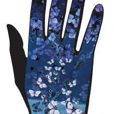 gant femme bleuet