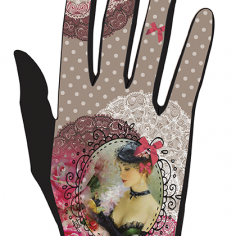 gant femme fleurette